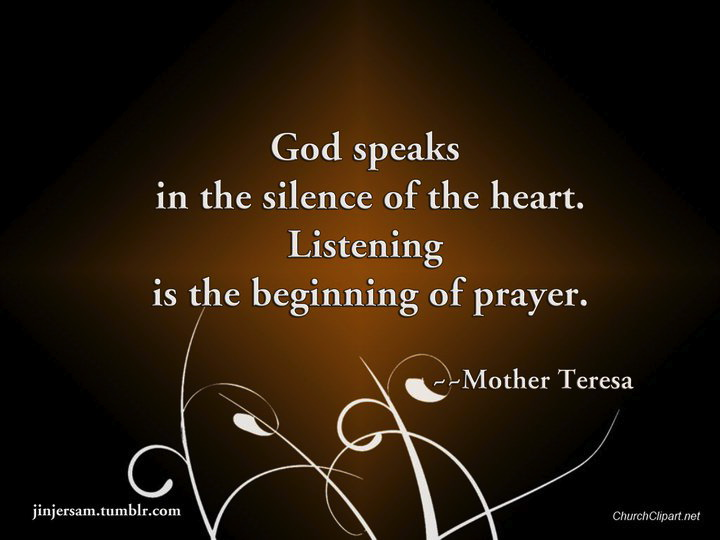 God Silence Quotes