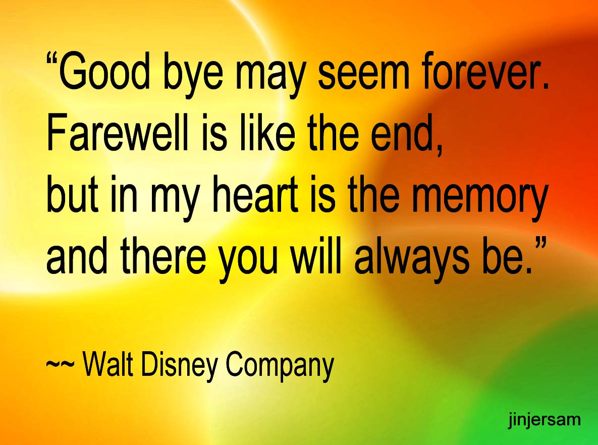 goodbye quotes page jasreflections
